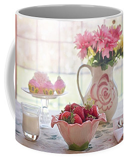 Strawberry Breakfast Coffee Mug