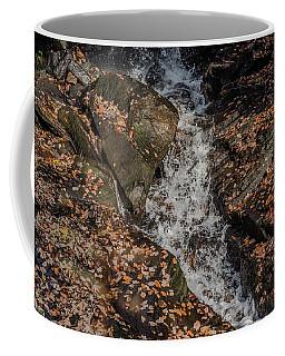 Coffee Mug featuring the photograph Stream Through Rocks by Scott Lyons