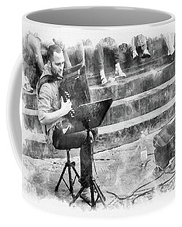 Street Musician In Florence Coffee Mug