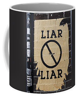 Street Poster - Liar Liar 2 Coffee Mug