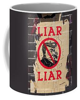 Street Poster - Liar Liar Coffee Mug