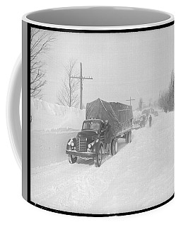 Street Scene In The Aftermath Of A Blizzard In Arthur Ontario Coffee Mug