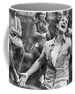 Street Singer In Florence Coffee Mug
