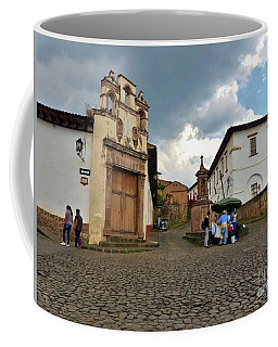Coffee Mug featuring the photograph Street Vendor by Rosanne Licciardi