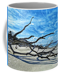 Stretch By The Sea Coffee Mug