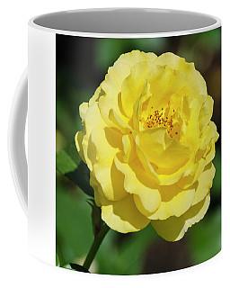 Striking In Yellow Coffee Mug