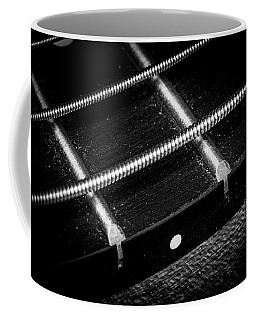 Coffee Mug featuring the photograph Strings Series 17 by David Morefield