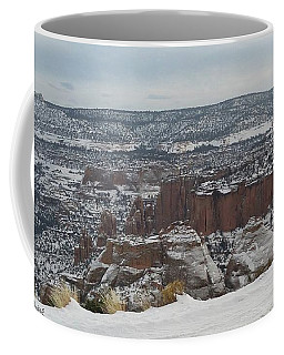 Striped Overview Coffee Mug