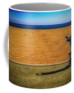 Stroller At The Beach Coffee Mug
