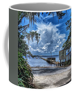 Strolling By The Dock Coffee Mug