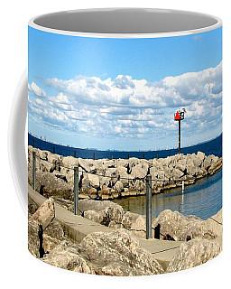 Sturgeon Point Marina On Lake Erie Coffee Mug
