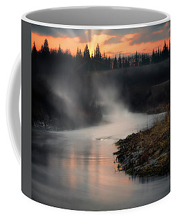 Sturgeon River Morning Coffee Mug