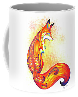 Stylized Fox I Coffee Mug