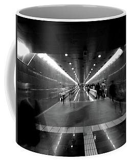 Subway Ghosts Coffee Mug