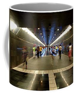 Subway Ghosts  Coffee Mug
