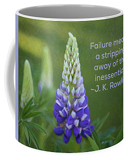 Success Via Failure - Motivational Flower Art By Omaste Witkowski Coffee Mug