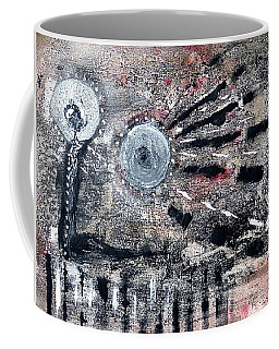 Coffee Mug featuring the painting Succinct by 'REA' Gallery