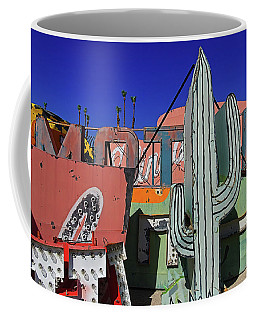 Coffee Mug featuring the photograph Succulent  by Skip Hunt