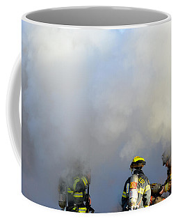 Coffee Mug featuring the photograph Suit Up by Carl Young