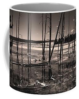Coffee Mug featuring the photograph Sulfur Field by Mae Wertz