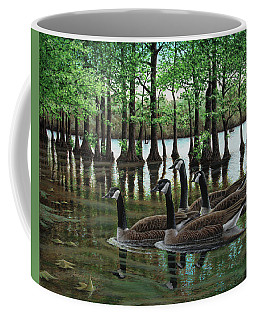 Summer Among The Cypress Coffee Mug