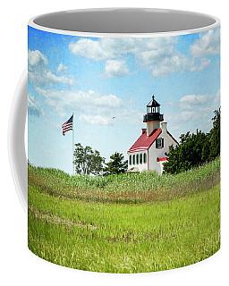 Summer At East Point Lighthouse II Coffee Mug