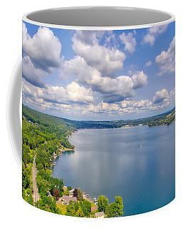 Summer Clouds On Keuka Lake Coffee Mug