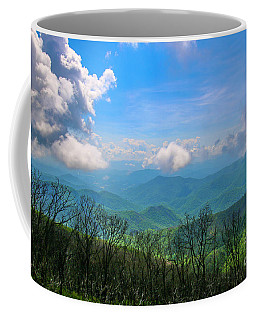 Summer Mountain View Coffee Mug
