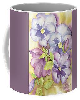 Summer Pansies Coffee Mug