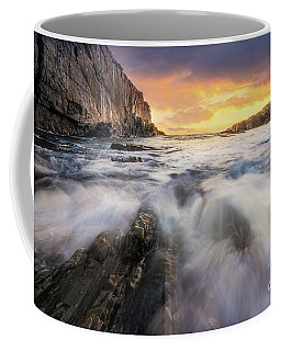 Summer Sunrise At Bald Head Cliff Coffee Mug