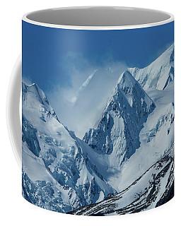 Summer Winds In Mount Cook National Park Coffee Mug