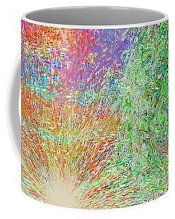 Sun Circles Earth Coffee Mug