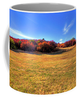 Coffee Mug featuring the photograph Sun On Magpie Forest by David Patterson