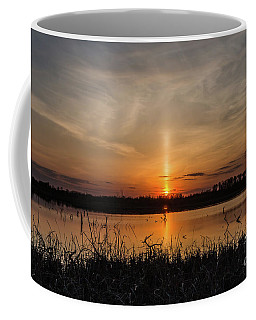 Sun Pillar Coffee Mug