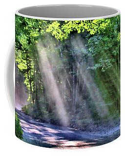 Coffee Mug featuring the photograph Sun Streaks by Debbie Stahre
