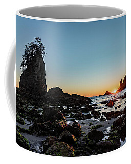 Sunburst At The Beach Coffee Mug