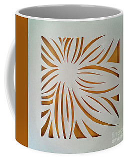 Sunburst Petals Coffee Mug
