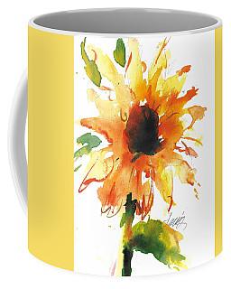Sunflower Too - A Study Coffee Mug