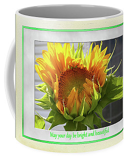 Sunflower Birthday Coffee Mug