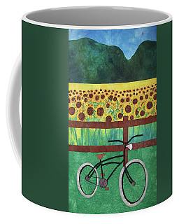 Sunflowers At Whitehall Farm Coffee Mug