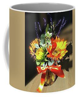 Sunflowers Fall Bouquet  Coffee Mug