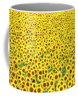 Sunflowers Galore Coffee Mug