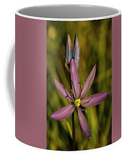 Sunlit Camas Lily Coffee Mug