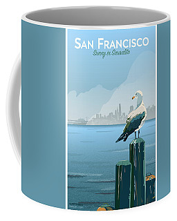 Sunny In Sausalito Coffee Mug