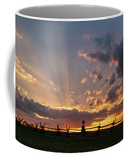 Sunrays At Sunset Coffee Mug
