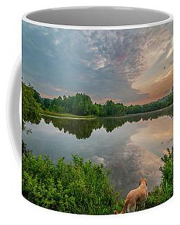 Sunrise At Ross Pond Coffee Mug