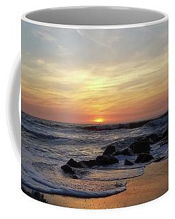 Sunrise At The 15th St Jetty Coffee Mug