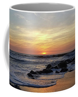 Sunrise At The 15th St Jetty Coffee Mug