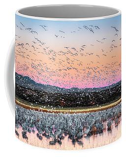 Sunrise At The Crane Pool Coffee Mug