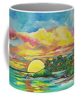 Sunrise At The Islands Coffee Mug